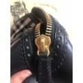 Burberry - Check And Leather Bag thumb 6